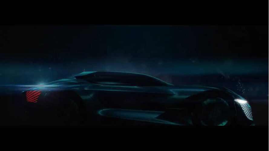 DS Teases DSX E-Tense Electric Concept
