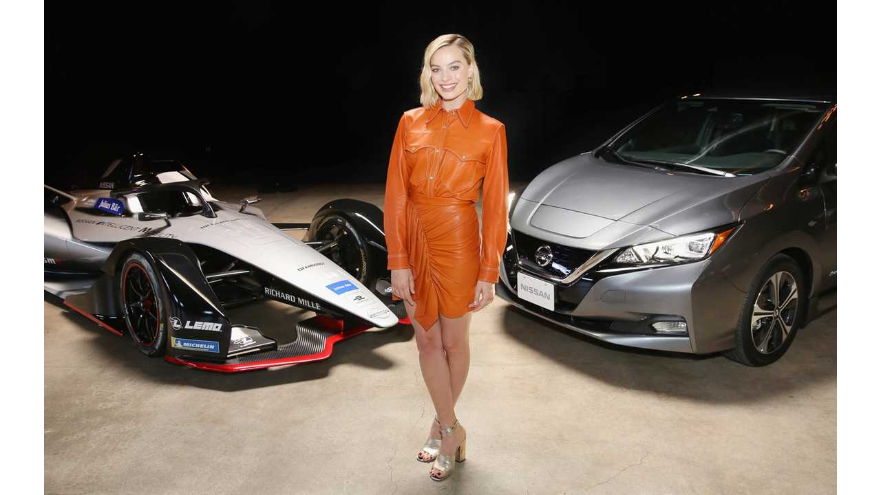 Nissan's Formula E Launch Tour Is A Wrap, Features Margot Robbie