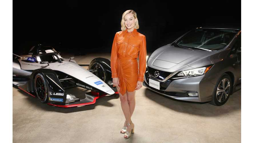 Nissan's Formula E Launch Tour Is A Wrap, Features Margot Robbie