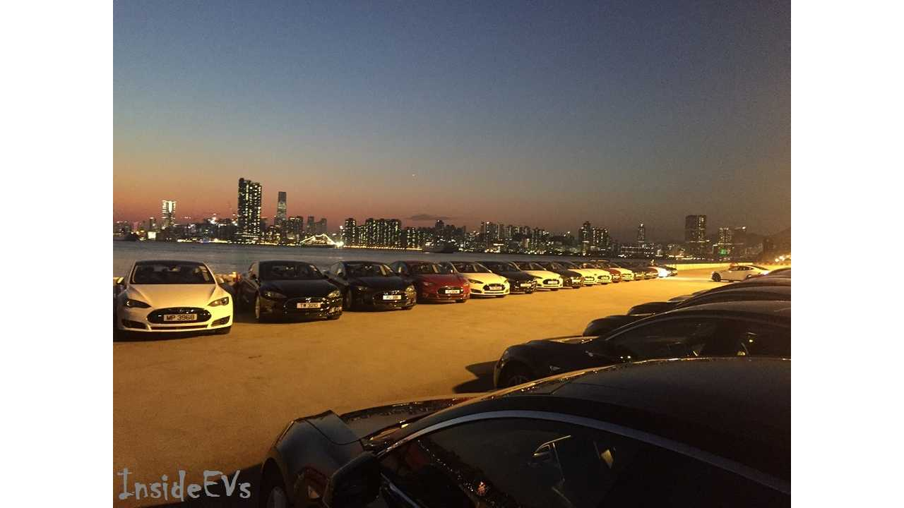 Just How Many EVs Do We Need On The Road To Affect Oil? (InsideEVs/Alex Wai - Model S Event This Year In Hong Kong)