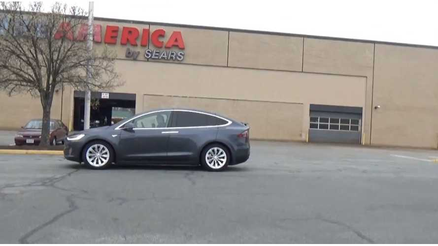 Tesla Model X P90D Launch Is Impressive - Video