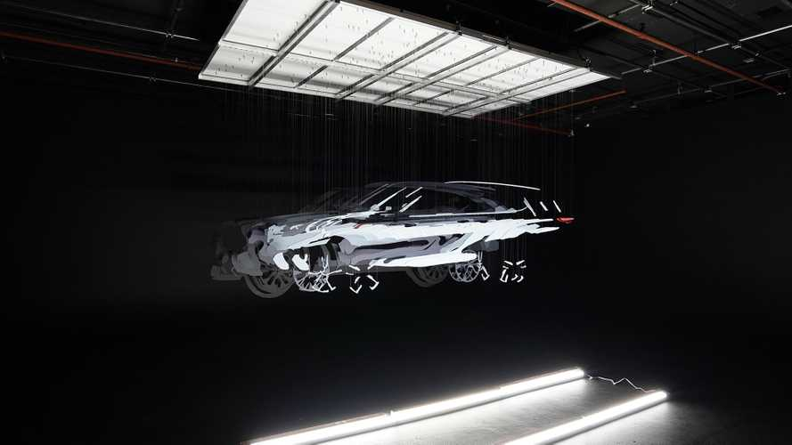 Тизер Toyota Highlander (2020)