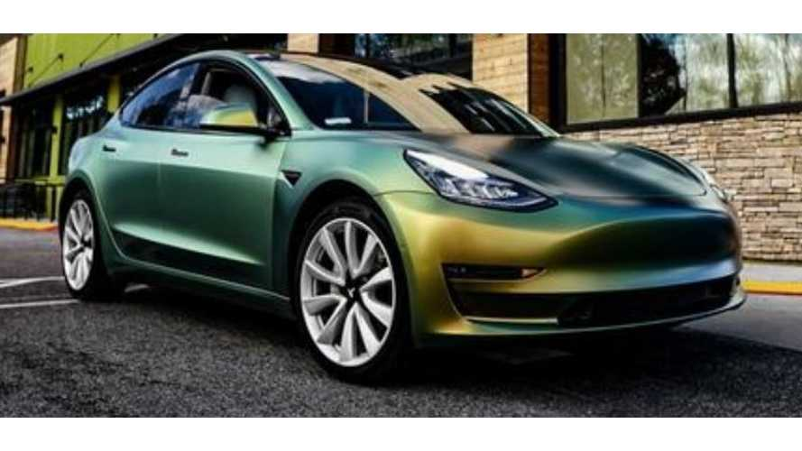 Go Green In A Tesla Model 3 For St. Patrick's Day