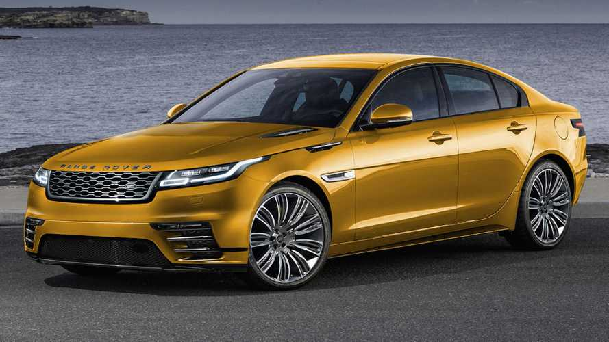 Electric Road Rover Velar Imagined