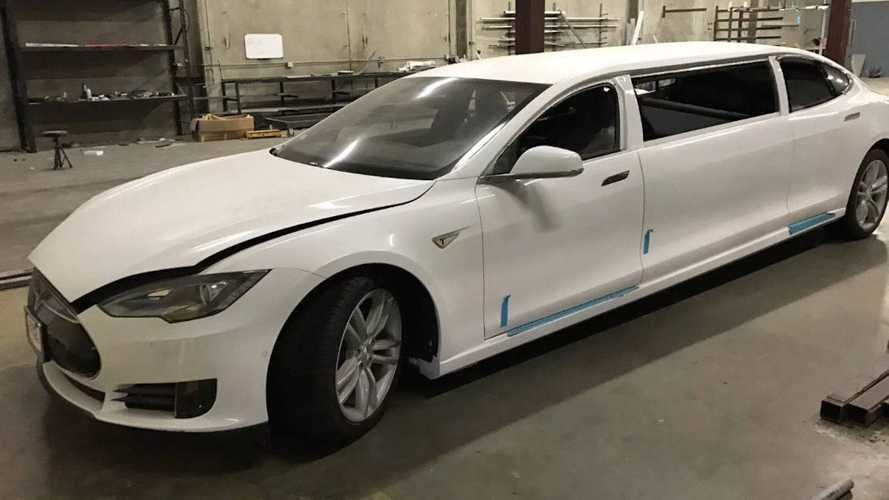 Interested In A Tesla Model S Limo? Bid Now