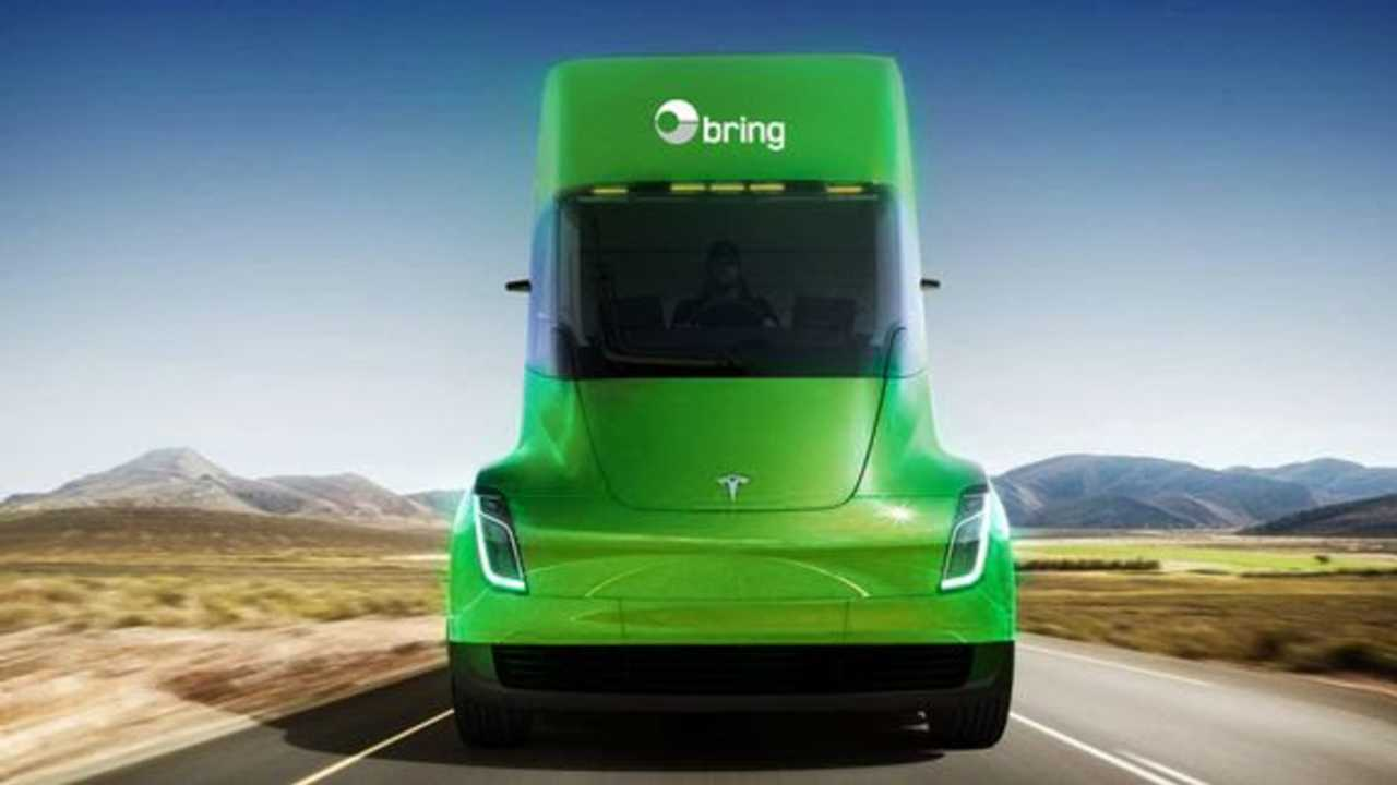 Norway Post Places Order For Tesla Semi
