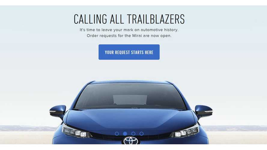Initial Demand For Toyota Mirai In The US Not Good, Only 600 Apply