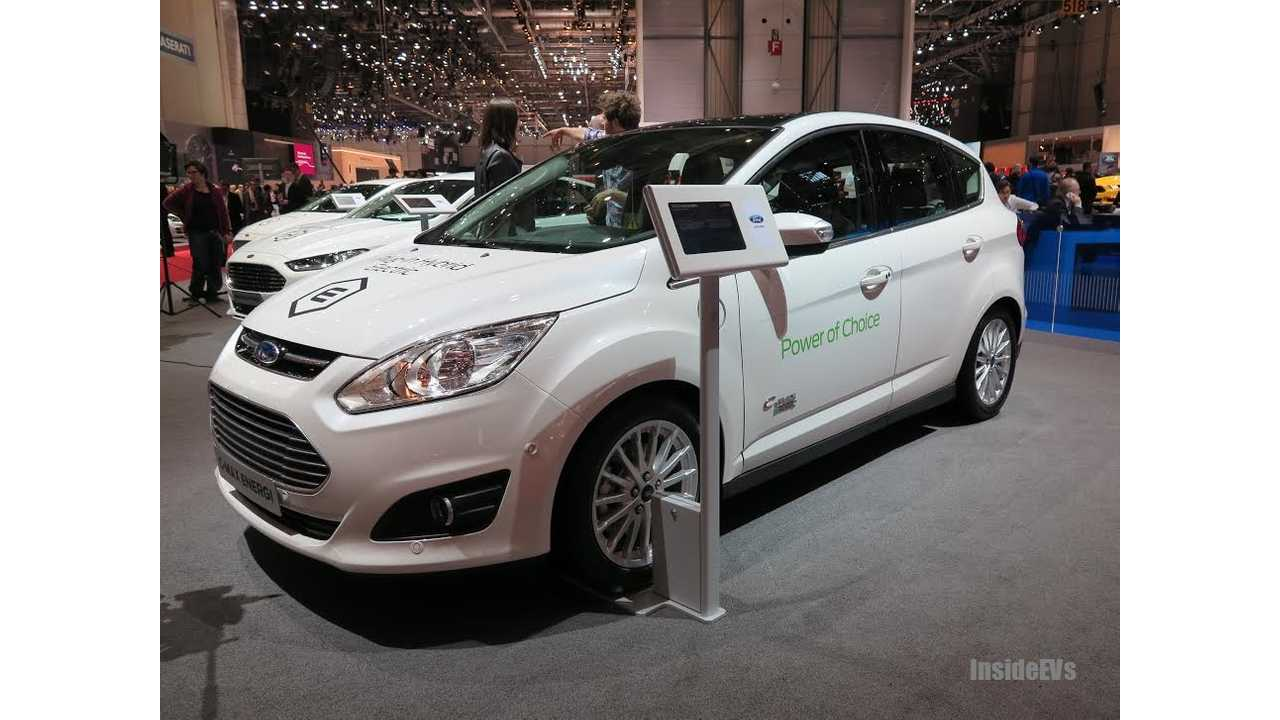 Ford To Launch C-MAX Energi In China