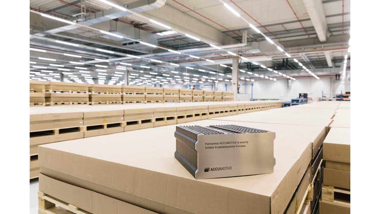 Daimler's ACCUMOTIVE And Enercity To Install 15 MWh Energy Storage System
