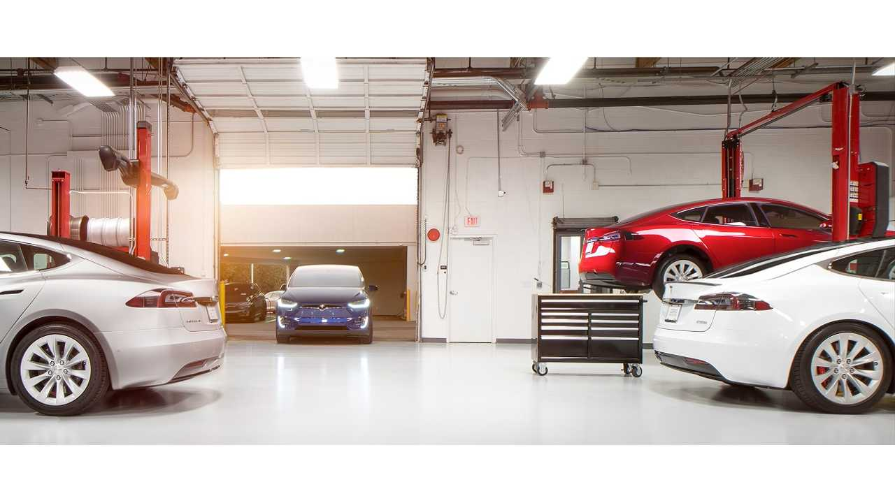 Tesla Confirms Use Of Self Driving For Future Service Center Repairs