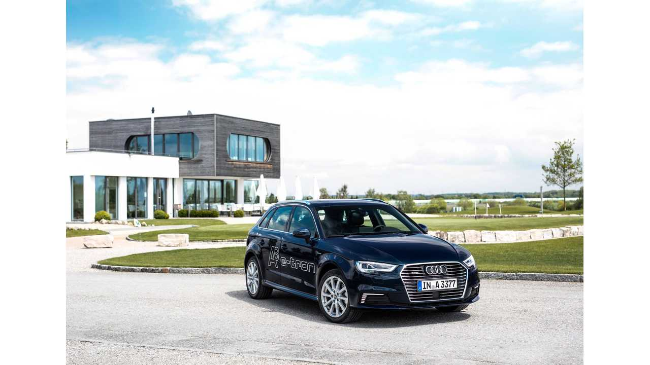 20% Of A3 Sales Last Month Were e-trons, Accounting For 50% Of Audi's Growth In 2016 Overall