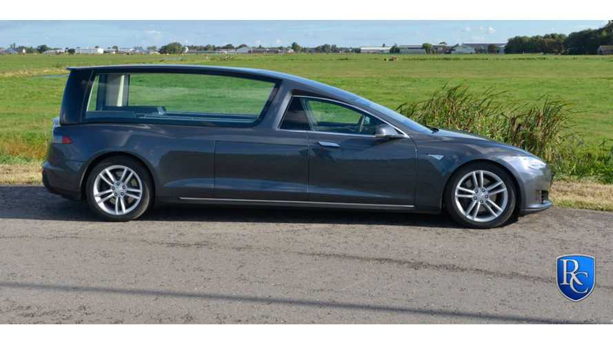 Tesla Model S Hearse Gets Full Reveal