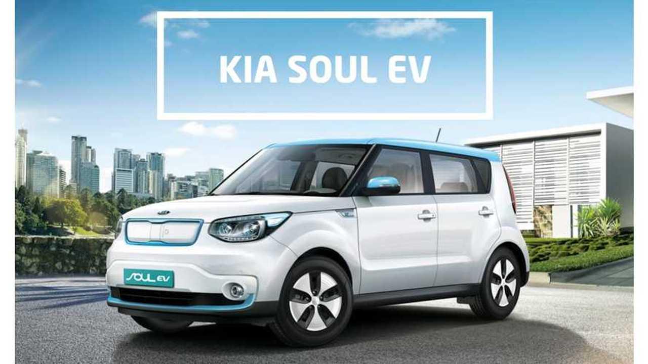 Kia Soul EV Sales - 109 Sold In U.S. In October - 14 In Canada