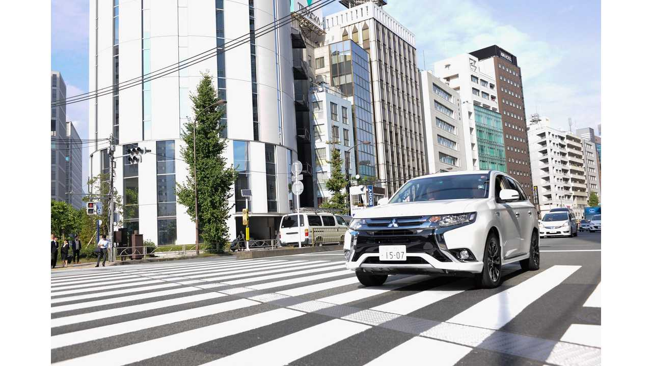 Mitsubishi Outlander PHEV Sales Fall In Japan For April