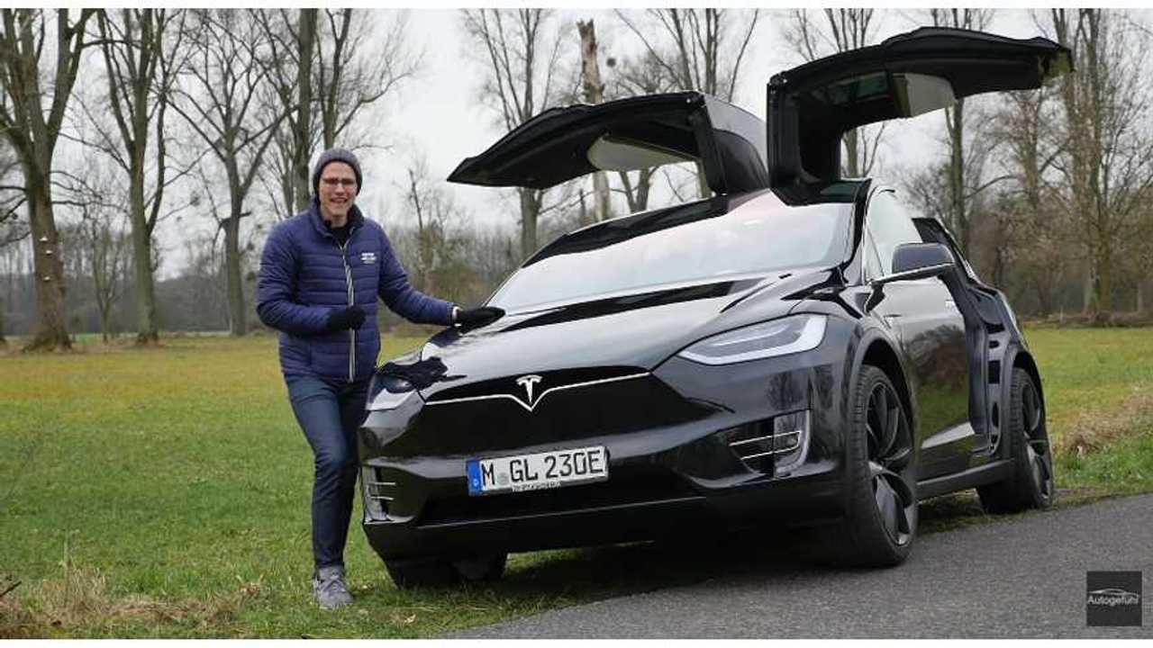 Tesla Model X P90D - Autogefuehl