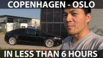 Can A Tesla Model S Drive From Copenhagen To Oslo In 6 Hours?