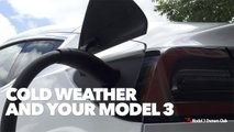 See How Cold Weather Impacts Tesla Model 3