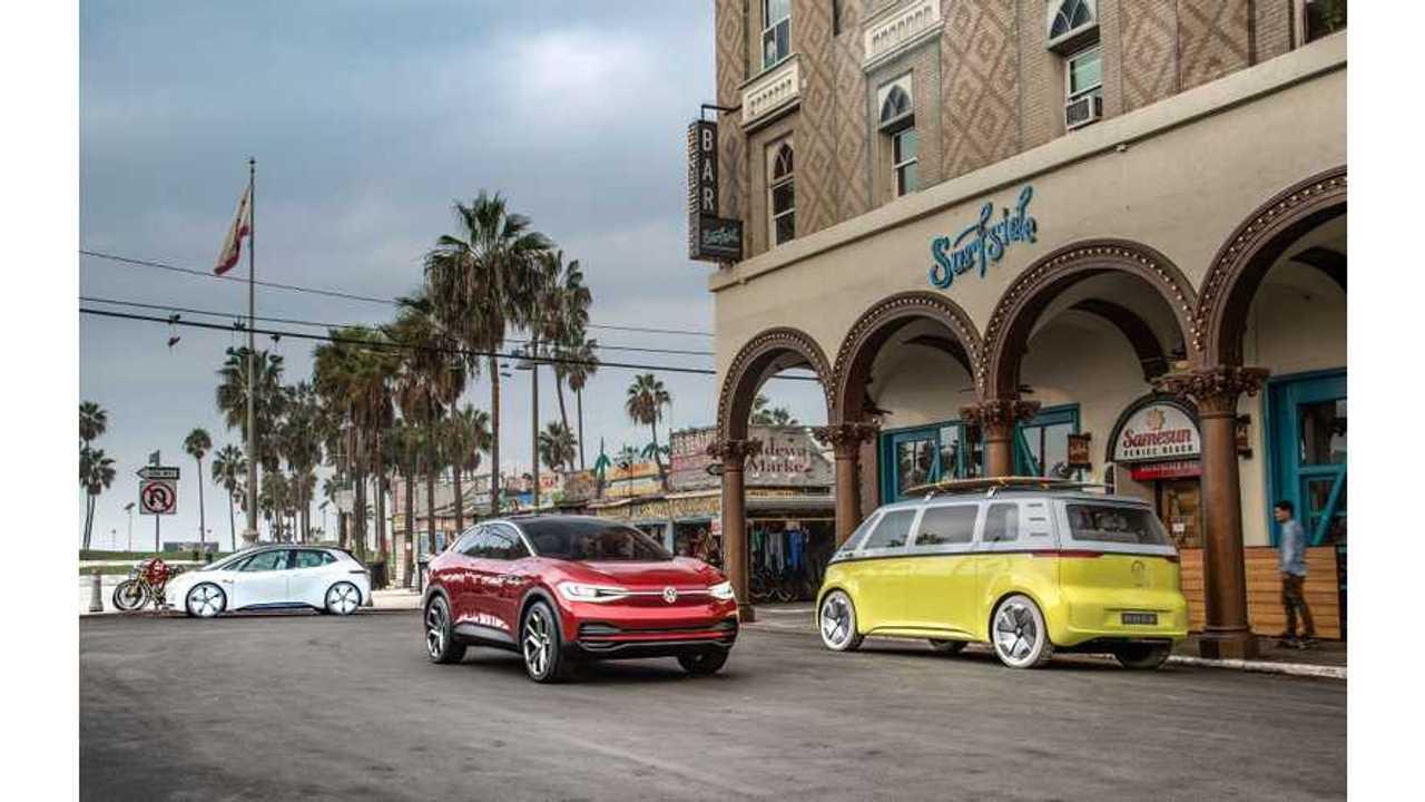 Volkswagen I.D. CROZZ And BUZZ Will Both Be Built In U.S.