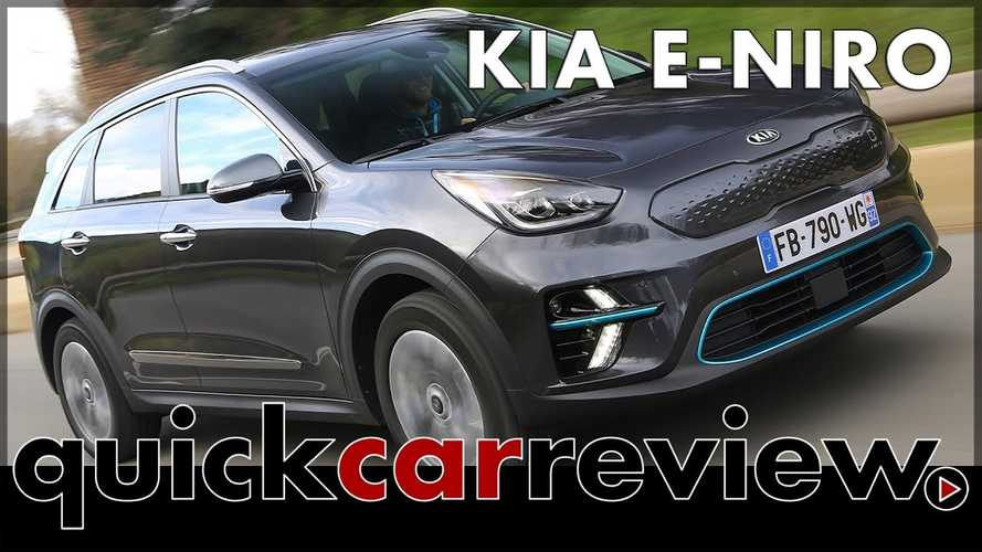 2019 Kia Niro EV Gets Driven: Video