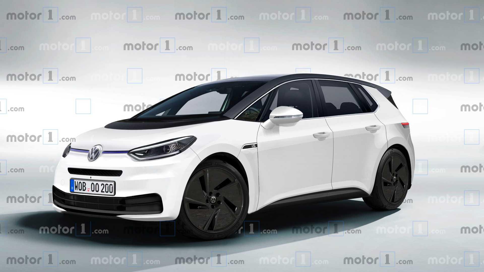 Volkswagen I D Hatch Rendered To Life