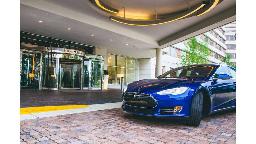Hilton Announces Electric Car Charging Program For U.S.