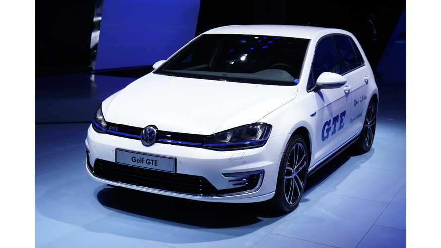 Volkswagen Golf GTE & Audi A3 e-tron Awarded 2015 KS Energy And Environment Prize