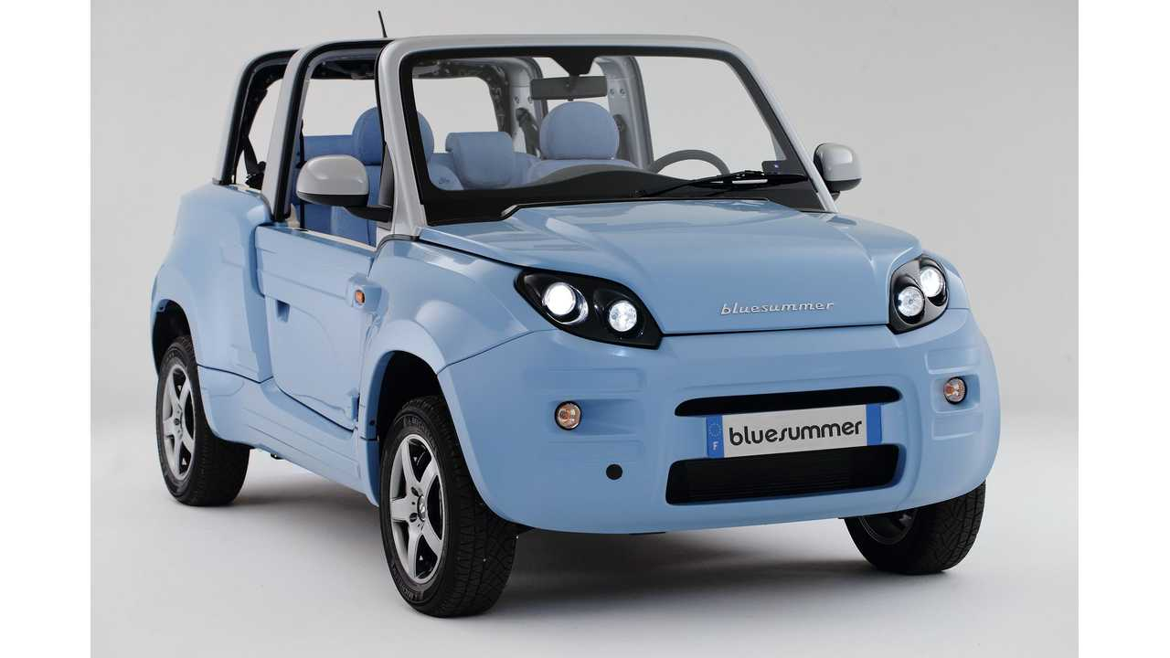 PSA Peugeot Citroën Will Produce Bluesummer For Bolloré Group