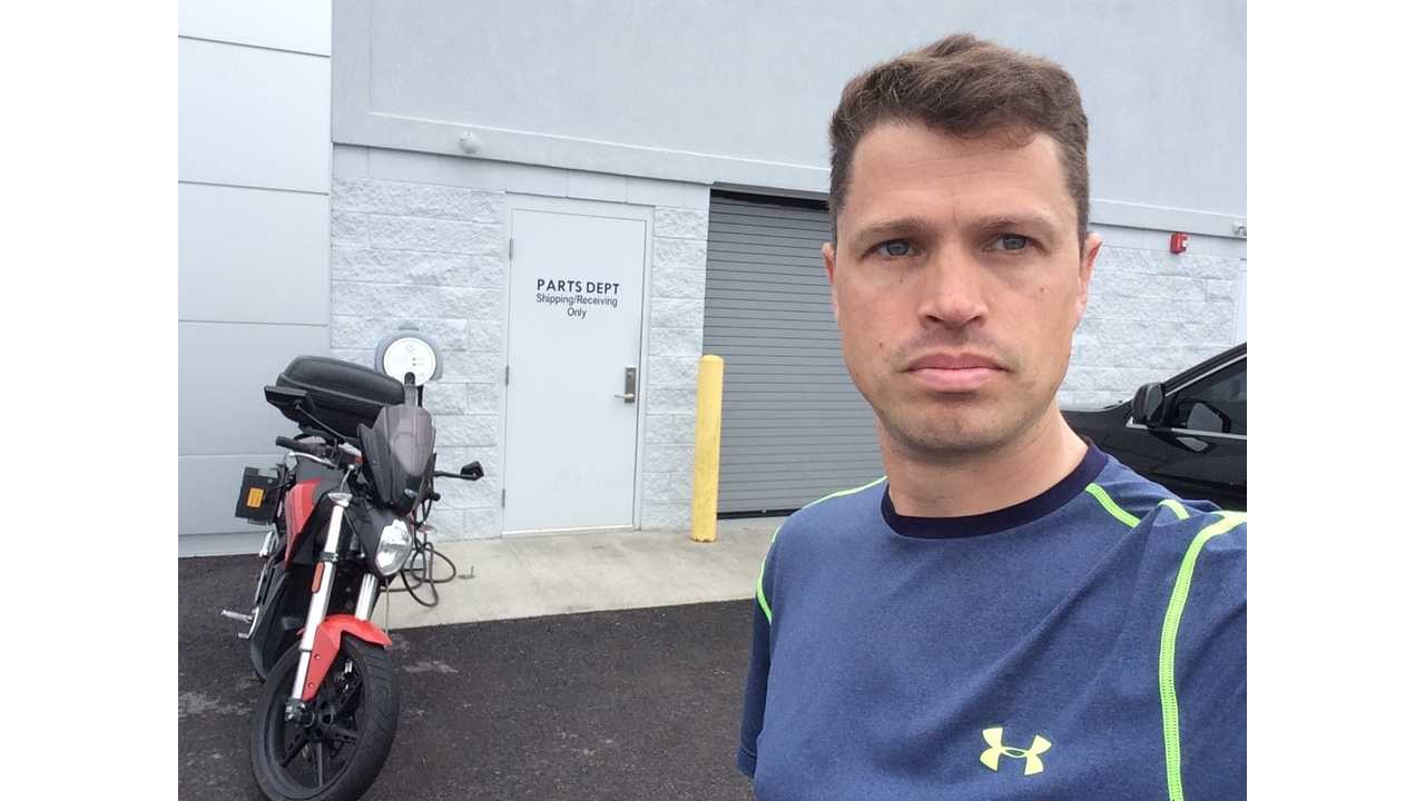 Three Country Tour on an Electric Motorcycle - Columbus