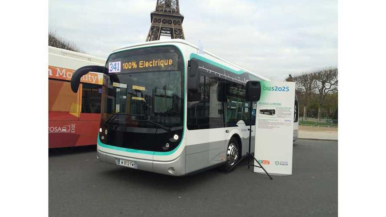 Bolloré Introduces 12-Meter Electric Buses With LMP Batteries
