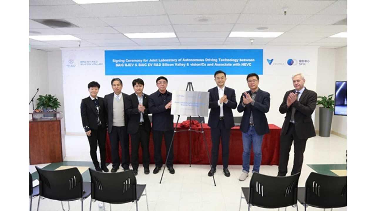 China's EV-Maker BAIC Sets Up Autonomous Shop In U.S.