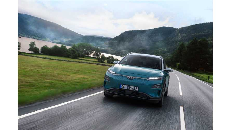 Hyundai Kona Electric Gets The Top Gear Treatment
