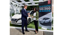 Nissan is celebrating the 100,000th delivery of the LEAF car this month in Europe