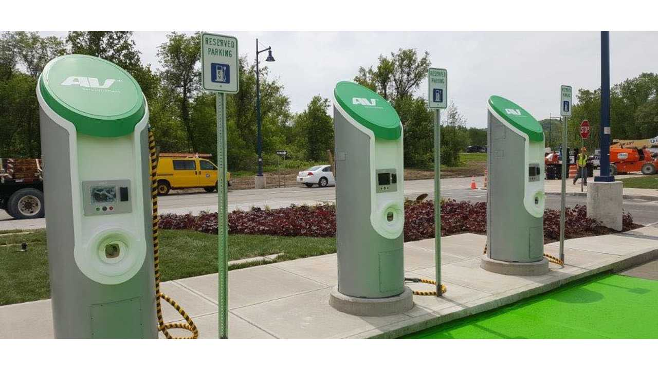 $4.2M In Charging Stations Announced For New York State Thruway