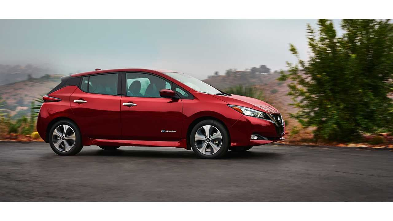La Nissan LEAF 2018 arrive dans les 50 États américains et en Europe au début de 2018 - Octobre au Japon