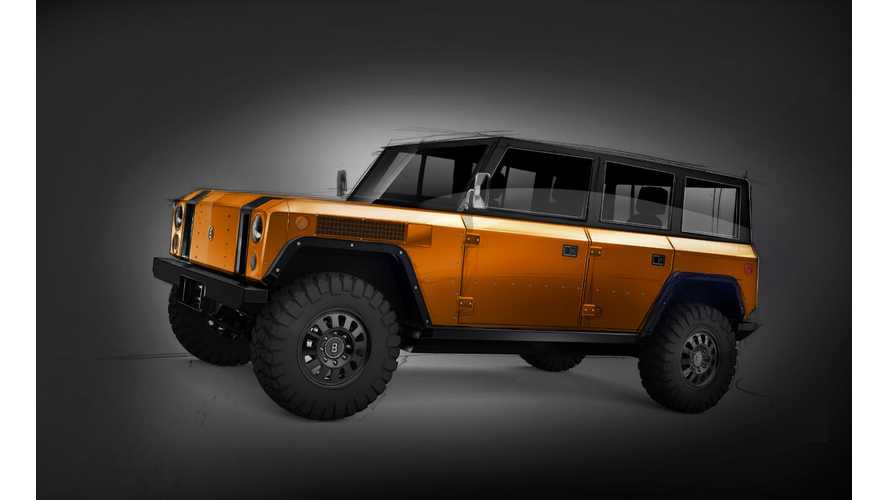 Bollinger Motors Releases First Sketch Of 4-Door B1 Electric Truck