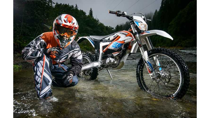 KTM Freeride E XC Launch