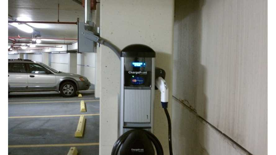 Now More Than 8,000 ChargePoint Stations In California