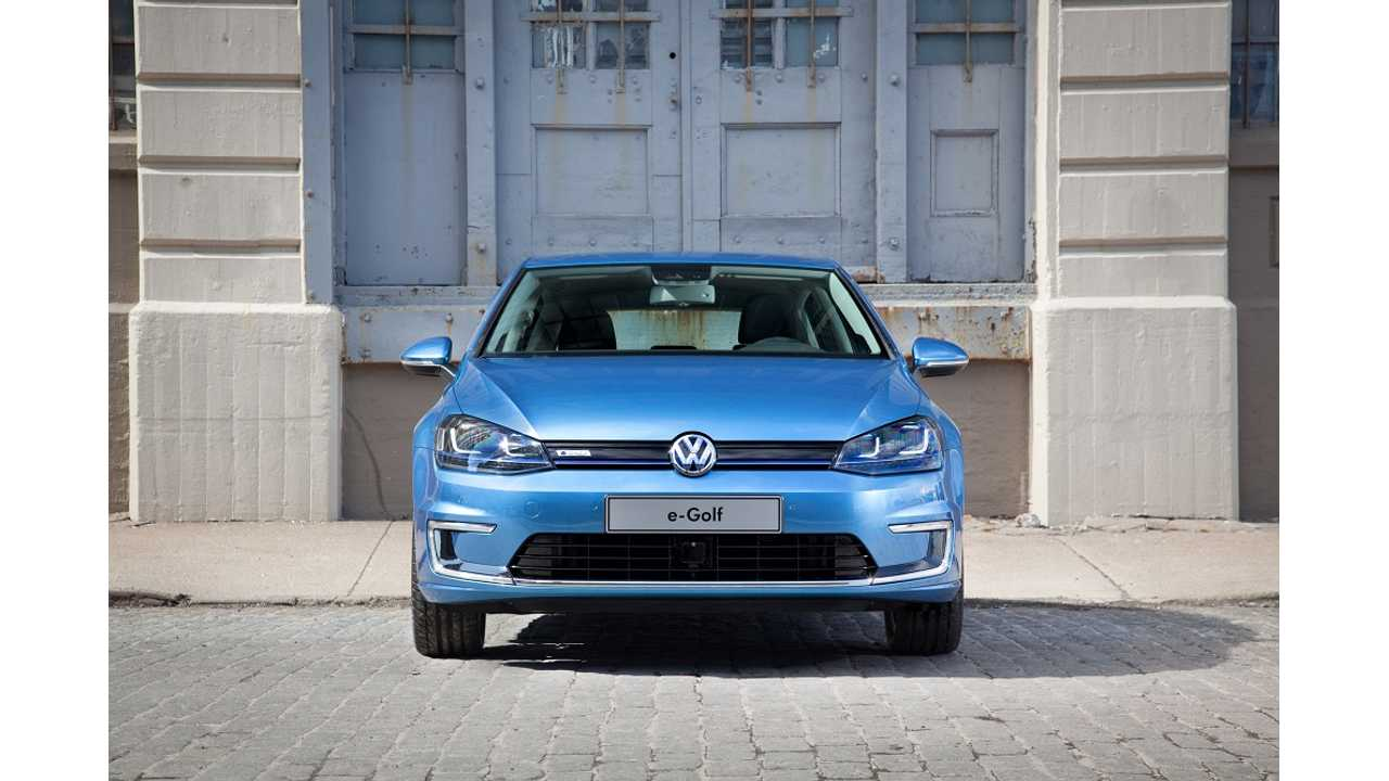 Volkswagen e-Golf Becomes 2015's Most Efficient Compact Car