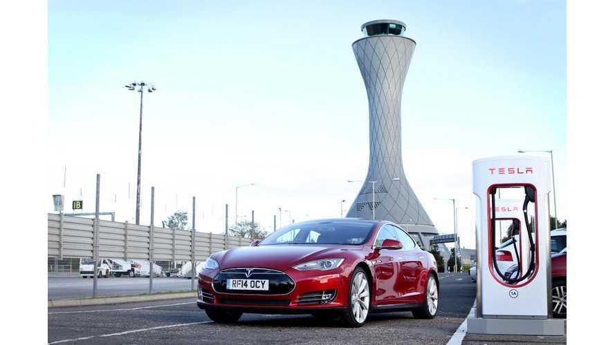 Scotland Gets Its First Tesla Supercharger