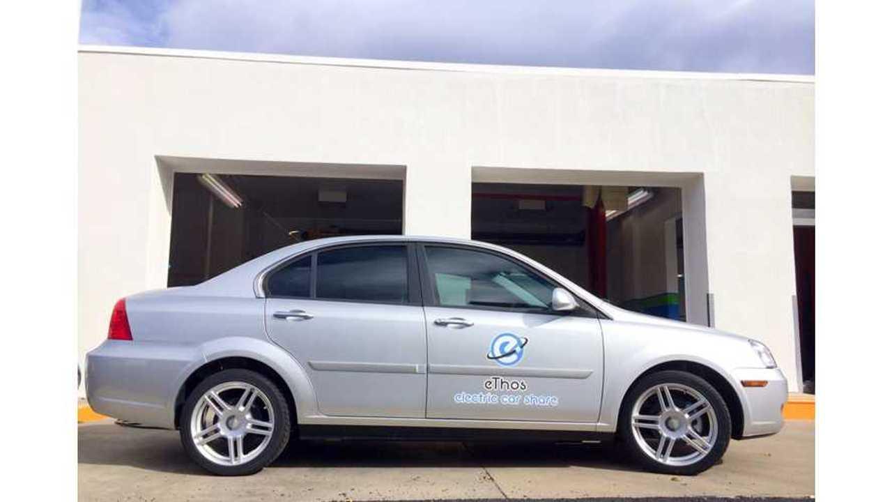 CODA Sedan Rebirth In Car Share Service eThos in Colorado