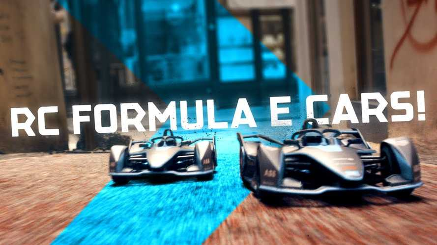 Formula E RC Cars Battle On The Streets For Our Hearts: Video