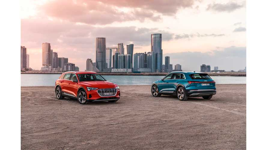 Does Audi e-Tron Really Only Use 83 Out Of Its 95-kWh Battery Pack?