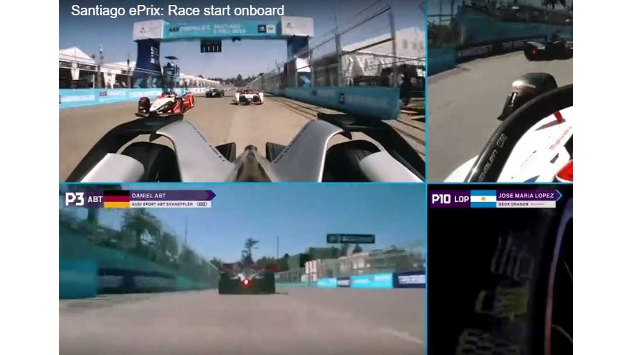 Watch Video Straight From Starting Line Of Formula E
