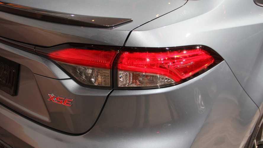 2020 Toyota Corolla saloon