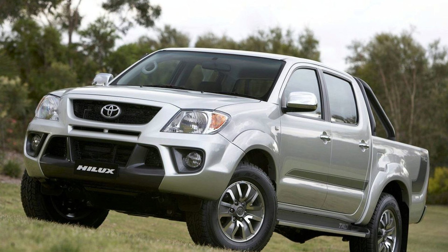 Pre-Production Toyota TRD HiLux
