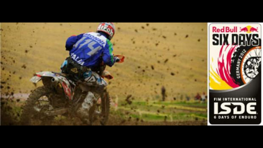 ISDE 2012: Enduro Six Days Germania Day 1