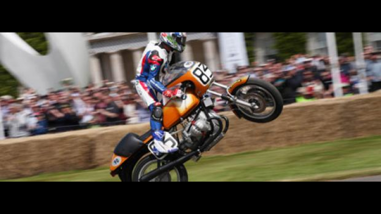 Troy Corser al Goodwood Festival of Speed 2012