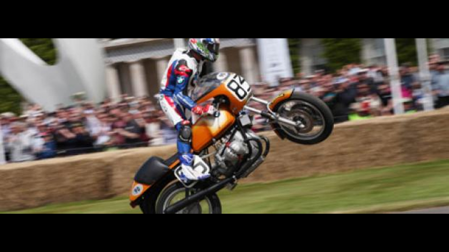 Troy Corser al Goodwood Festival of Speed 2012