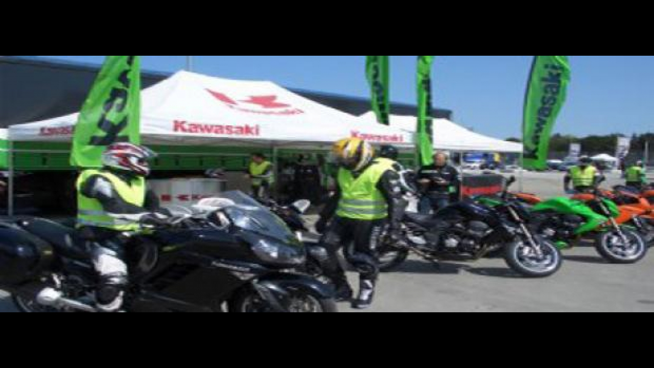Kawasaki Test Ride 2011 al via