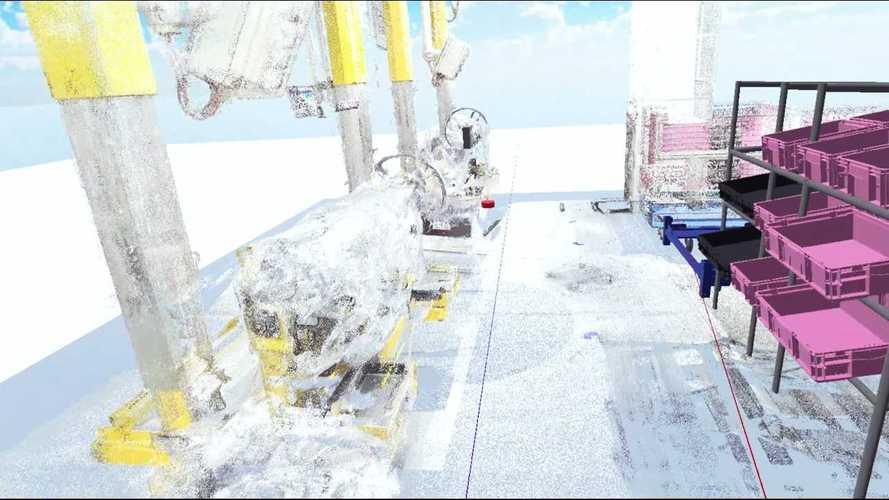 La realtà virtuale per la produzione della nuova BMW Serie 3